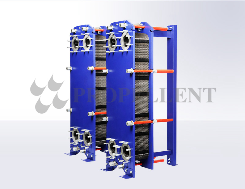 Removable plate heat exchanger