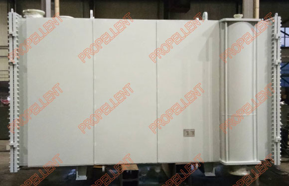 Fully welded wide gap plate heat exchanger suitable for media with fiber and particles
