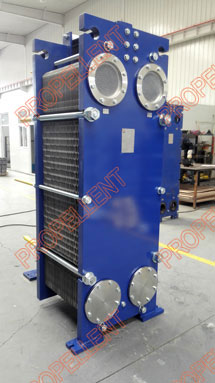Multi stage wide gap plate heat exchangers for fermentation liquor