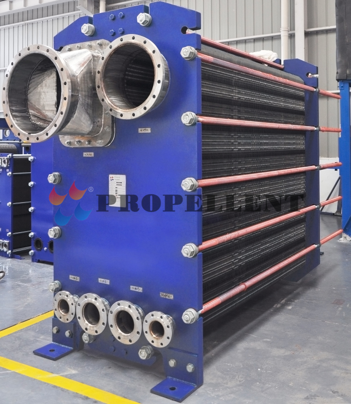 The function of the sewage heat exchanger