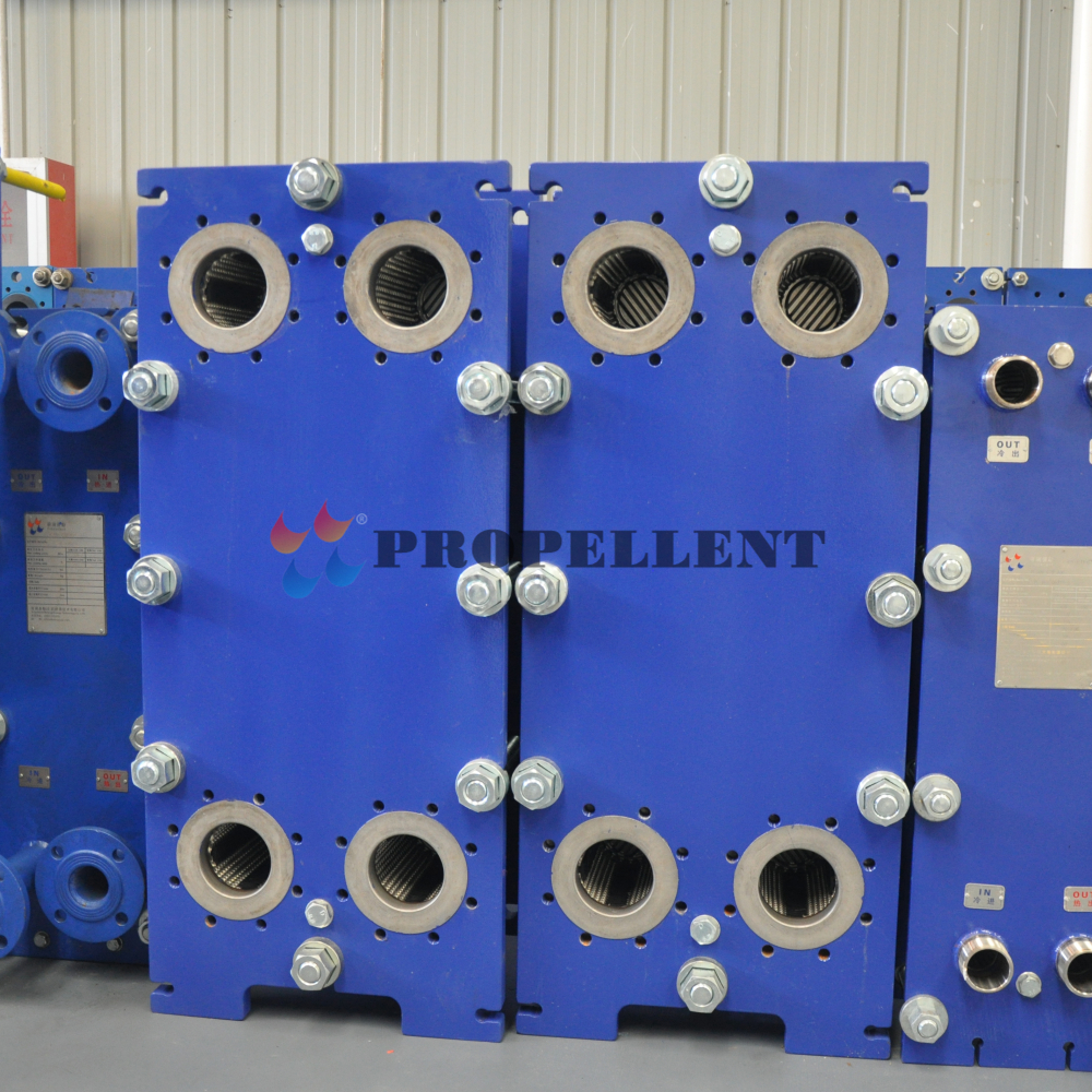 The working principle of plate heat exchanger