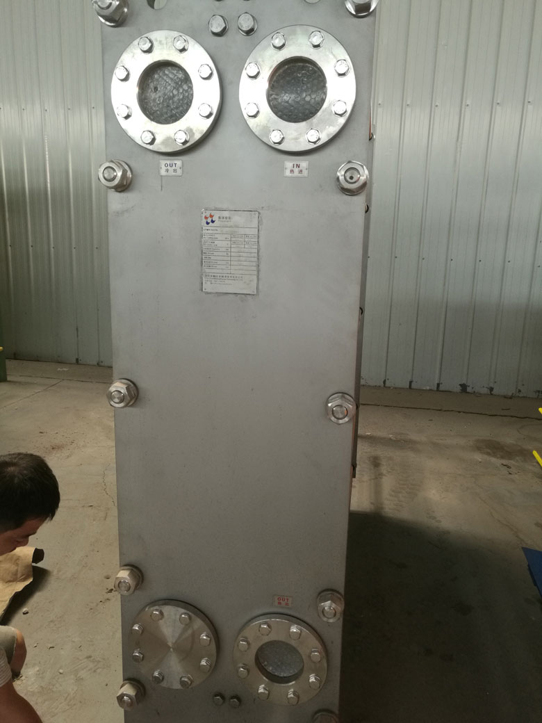 Thailand Wide Gap Plate Heat Exchanger for Molasses Cooler is Ready