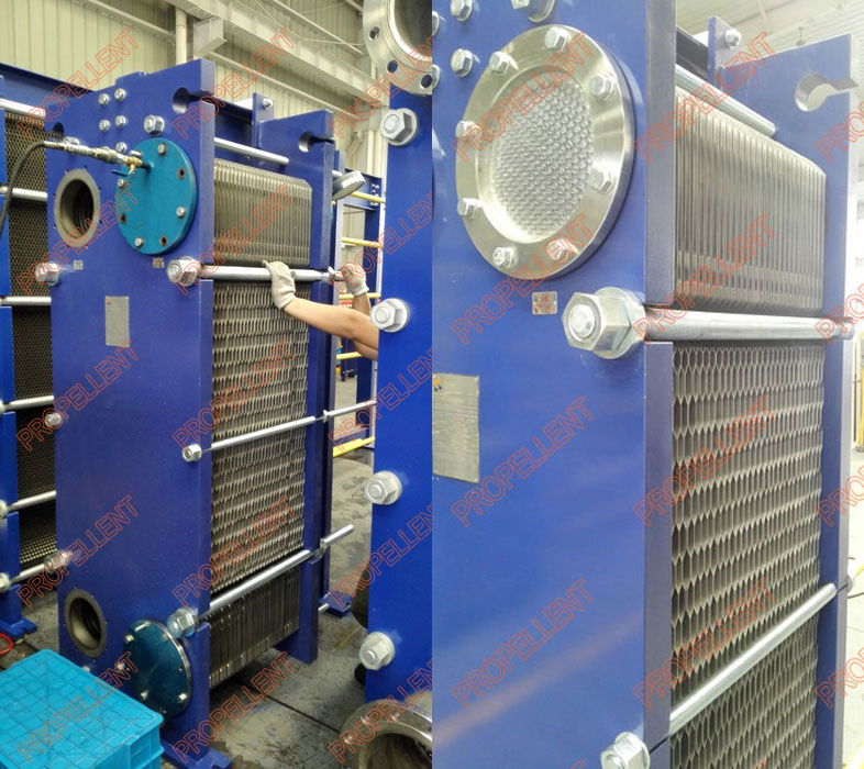 Multi-stage wide gap plate heat exchangers for fermentation liquor