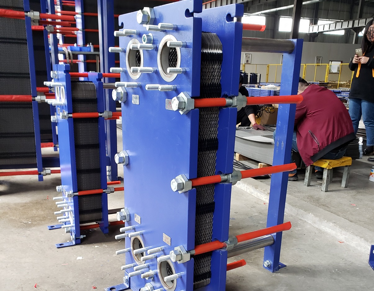 Precautions for plate heat exchanger during commissioning