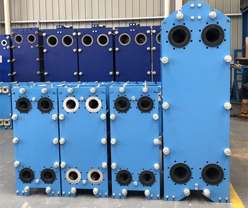 Features and advantages of marine plate heat exchanger: