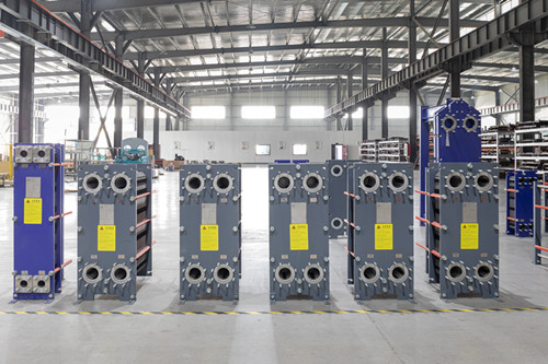 "Precautions for installation and takeover of ""plate heat exchanger"""