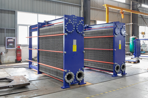 "Daily maintenance method of ""wide flow channel plate heat exchanger"""